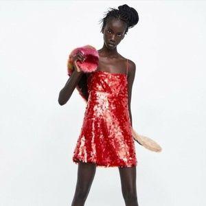 Zara Limited Edition Spaghetti Strap Dress